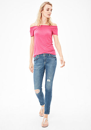 Shape Superskinny: Used-Jeans