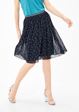 Skirt with polka dots from s.Oliver