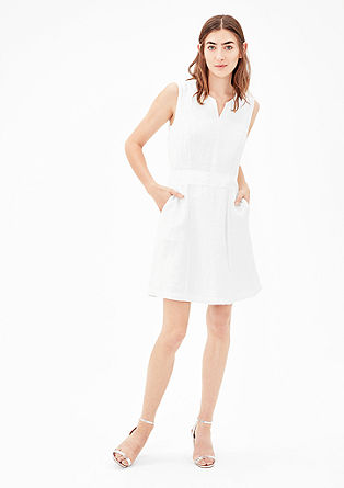 Summery linen dress from s.Oliver