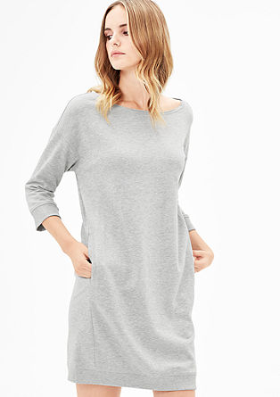 Lässiges Sweat-Kleid