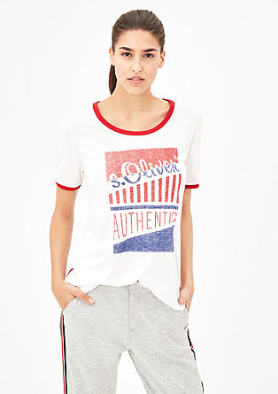 s.Oliver AUTHENTIC Printshirt