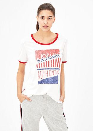 Potiskana majica s.Oliver AUTHENTIC