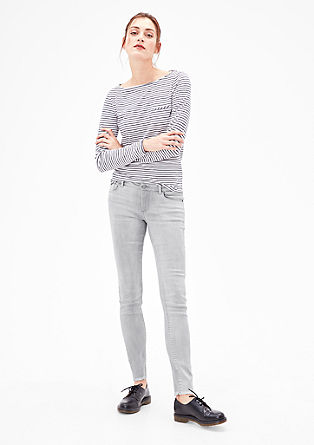 Shape Superskinny : jean stretch gris de s.Oliver