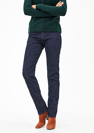 Smart Straight: dark stretch jeans from s.Oliver