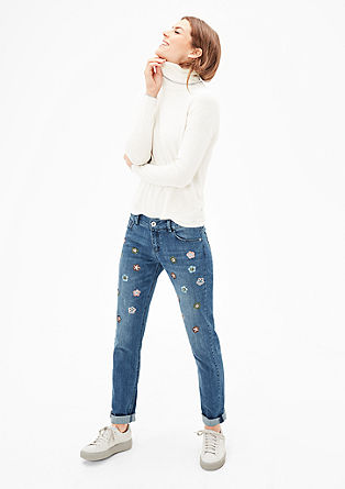 Shape Slim: Denim mit Pailletten