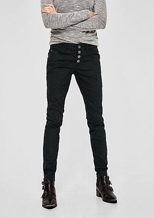 Shape Superskinny: Geknöpfte Jeans