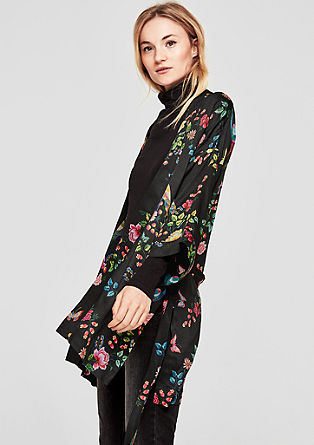 Lightweight blazer in a kimono style from s.Oliver