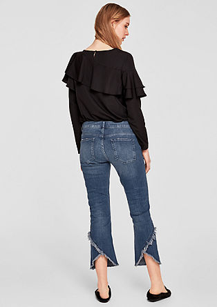 Kick Flare: Flared 7/8-length jeans  from s.Oliver