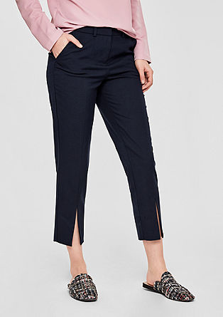 7/8-length trousers from s.Oliver