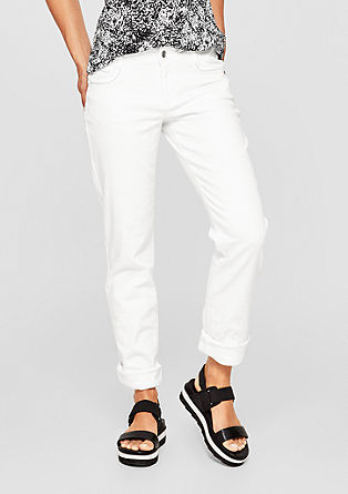 Shape Slim: jeans with embroidery from s.Oliver