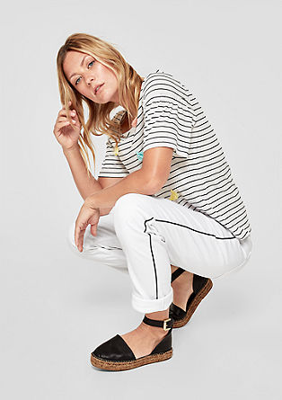 Shape Slim: Jeans mit Kontrastslim