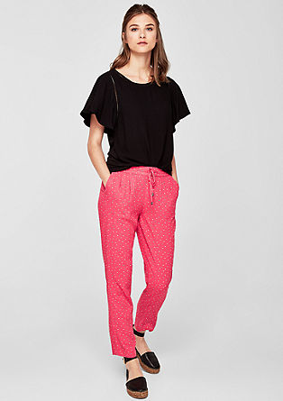 Fine cloth trousers in a casual design from s.Oliver