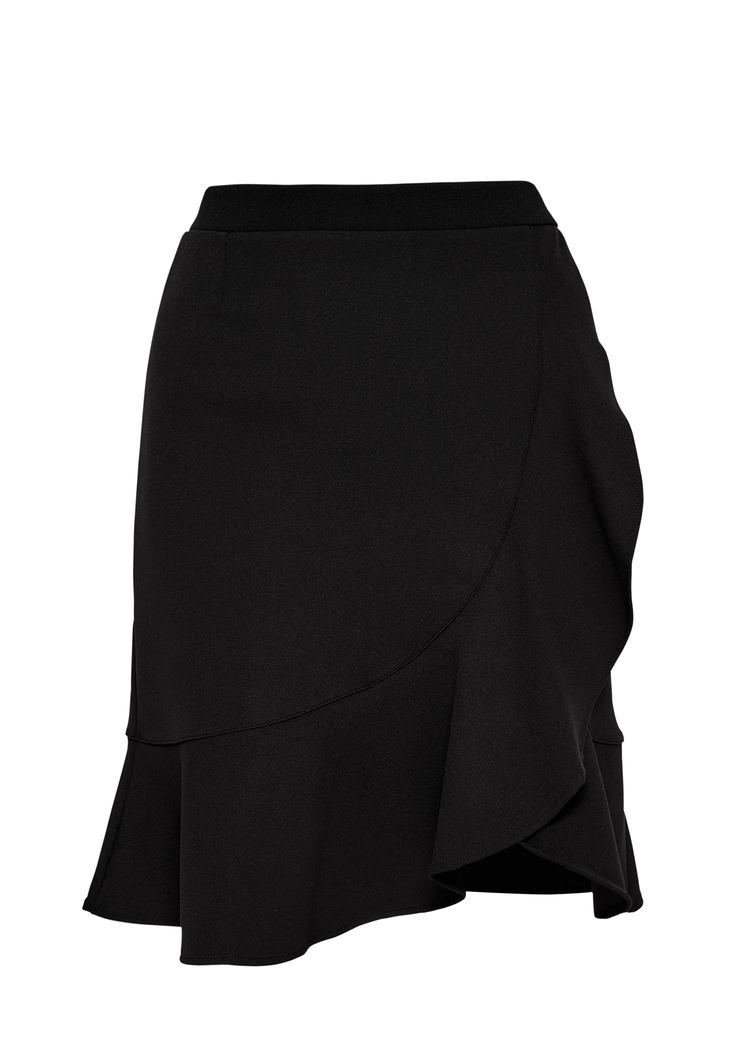 Volantrock | Bekleidung > Röcke > Stufenröcke & Volantröcke | Schwarz | 95% polyester -  5% elasthan | s.Oliver