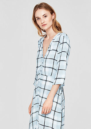 Patterned blouse dress from s.Oliver