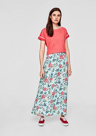 Jupe longue à imprimé floral de s.Oliver
