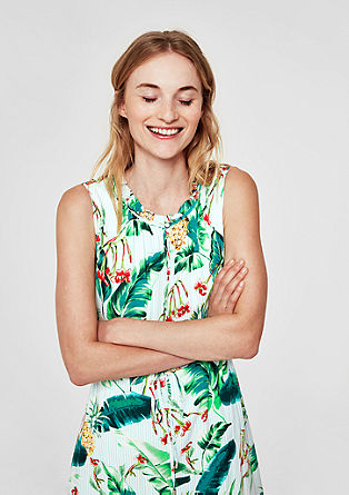 Sommerliches Viskose-Kleid