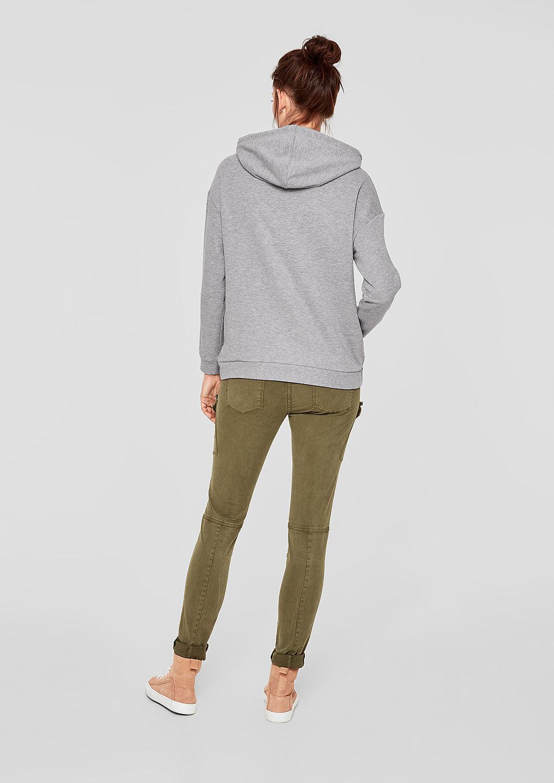 s.Oliver - Sweatshirt mit Glitzer-Details - 3