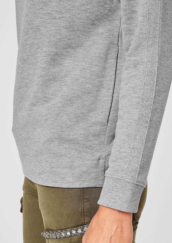 s.Oliver - Sweatshirt mit Glitzer-Details - 5