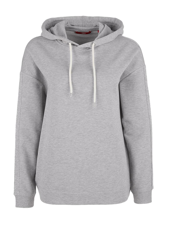 s.Oliver - Sweatshirt mit Glitzer-Details - 4