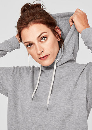Sweatshirt with glitter details from s.Oliver