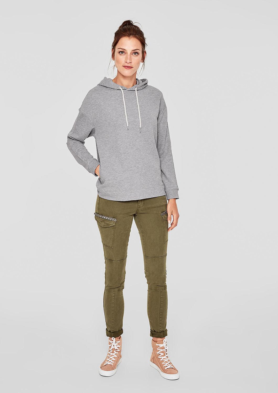 s.Oliver - Sweatshirt mit Glitzer-Details - 2