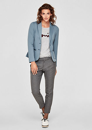 Legerer Sweat-Blazer