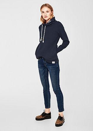 Sweatshirt met turtleneck