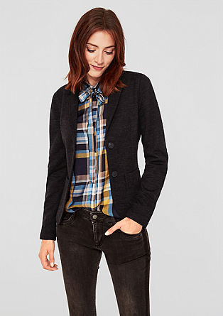 Casual short blazer from s.Oliver