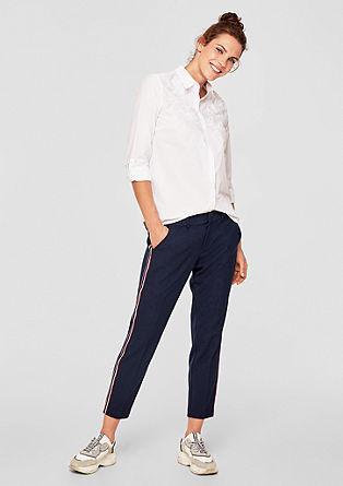 Keprové kalhoty slampasy