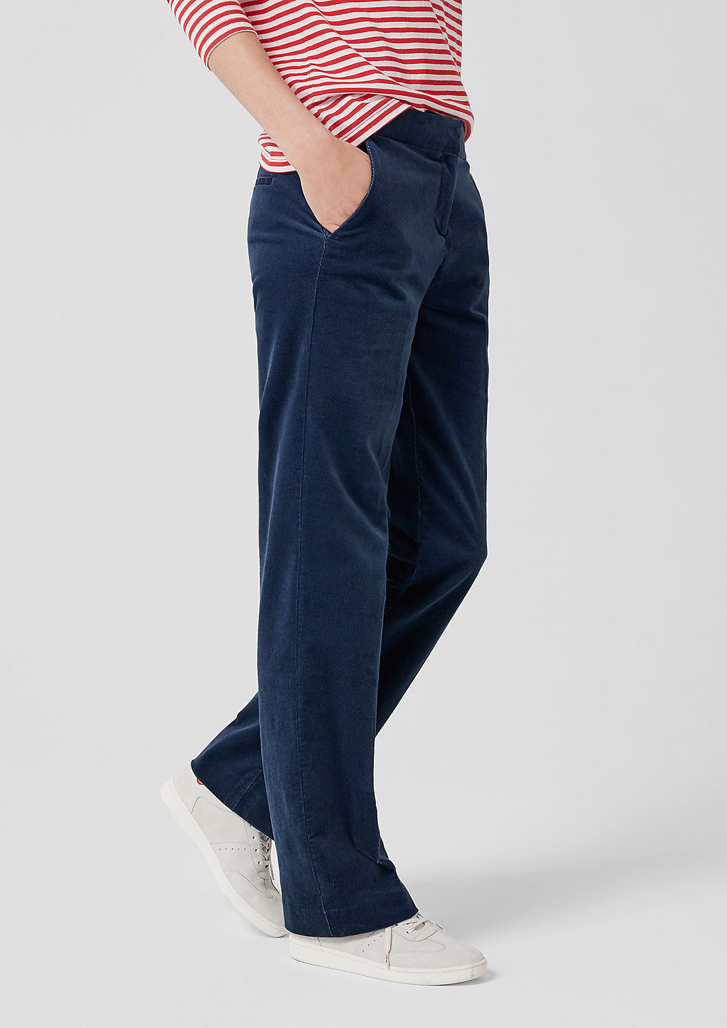 s.Oliver - Smart Straight: Cordhose - 7