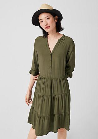 Blusenkleid mit Volants
