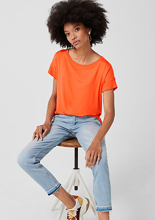 Casual basic shirt van jersey