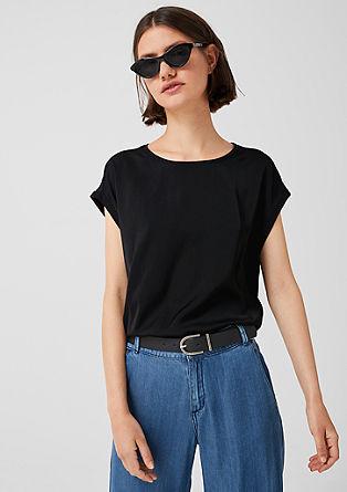 Bluzna majica iz različnih vrst blaga