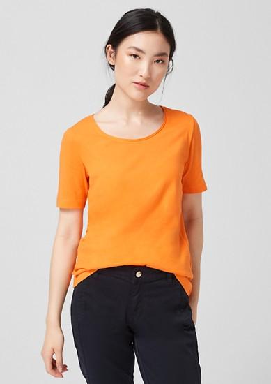 Jersey T-shirt van katoen