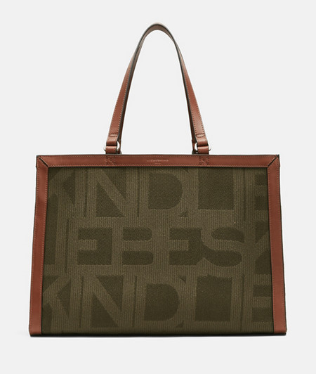 Large satchel in DIN format from liebeskind