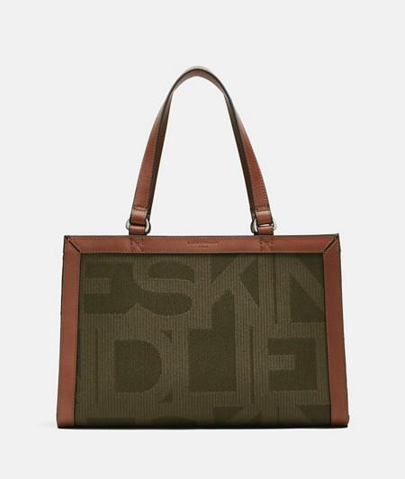 praktische Satchel Tasche im DIN-Format