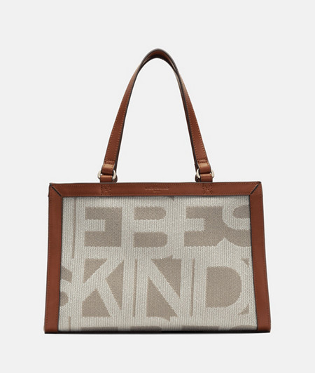 Practical satchel in DIN format from liebeskind
