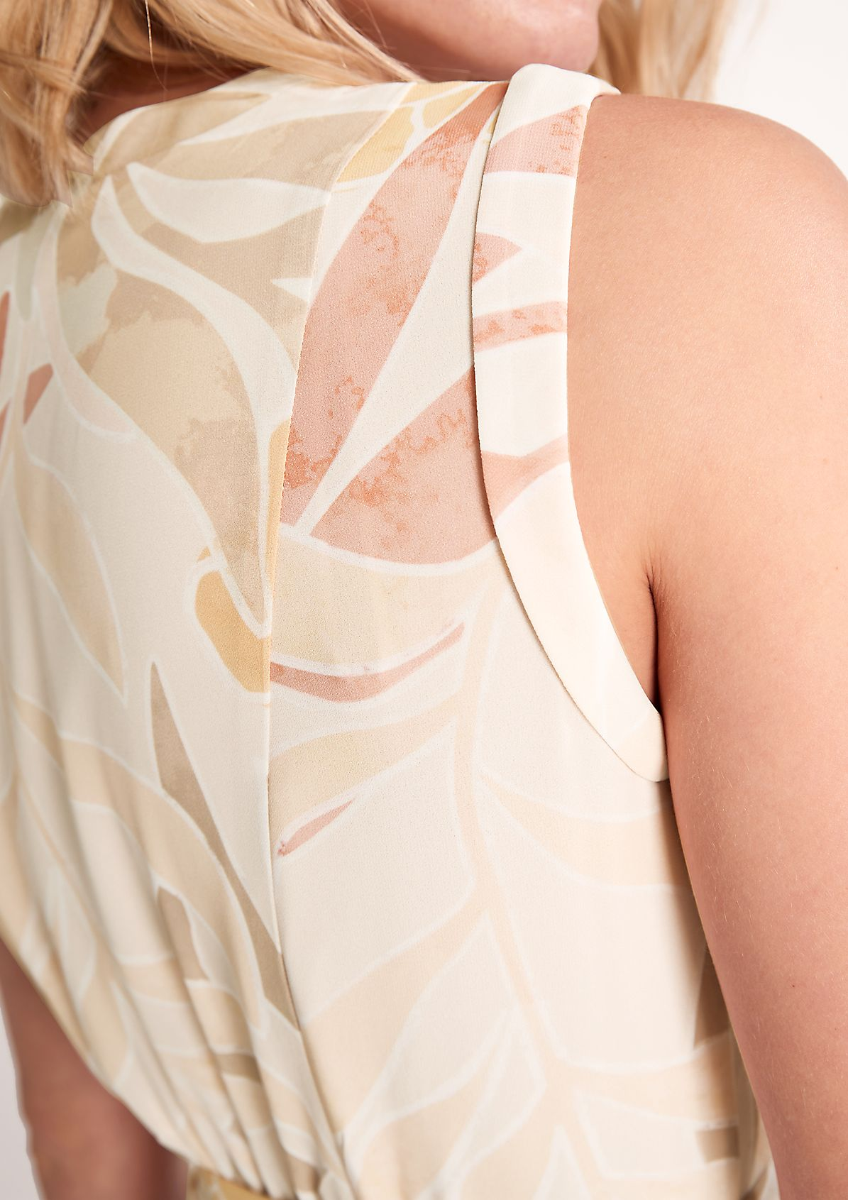 Wickelkleid aus Chiffon