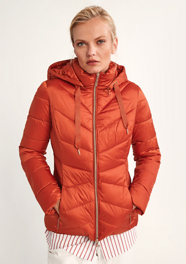 Padded quilted jacket from comma