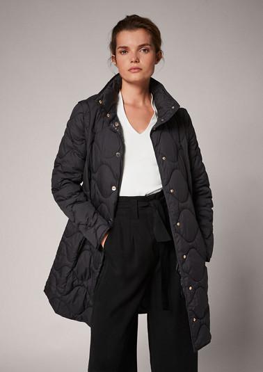 Mantel mit abnehmbaren Ärmeln