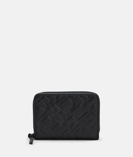 Leather wallet with logo monogram from liebeskind
