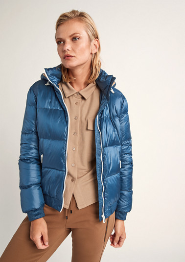 Nylon quilted jacket from comma