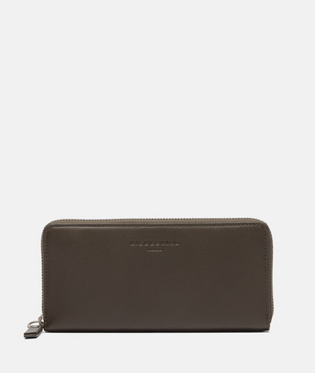 Leather wallet with embossed logo from liebeskind
