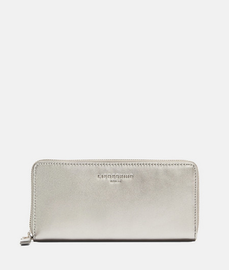 Metallic leather wallet from liebeskind