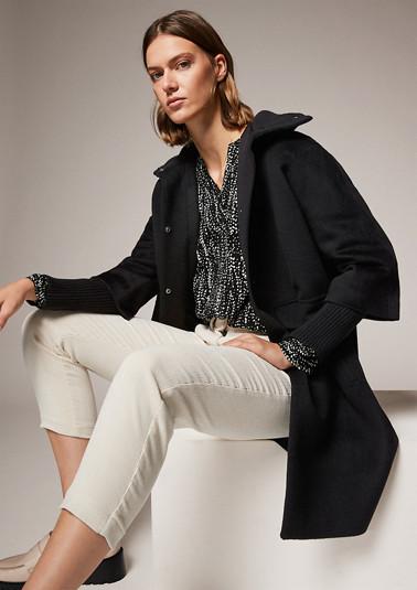 Mantel aus Viskosemix