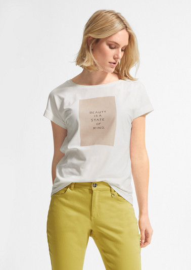 Modal blend T-shirt from comma