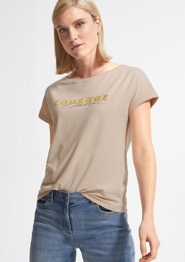 T-Shirt aus einer Modalmischung