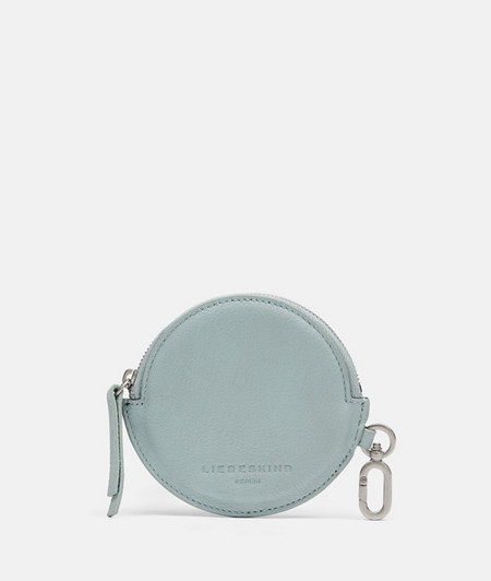 Round smooth leather case from liebeskind