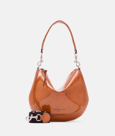 futuristische Naplack-Tasche