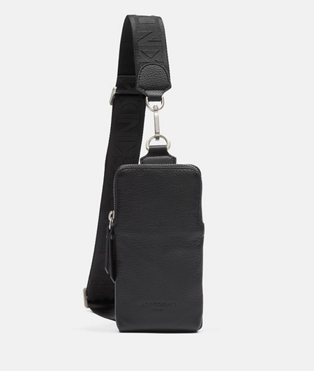 Smooth leather sling bag from liebeskind